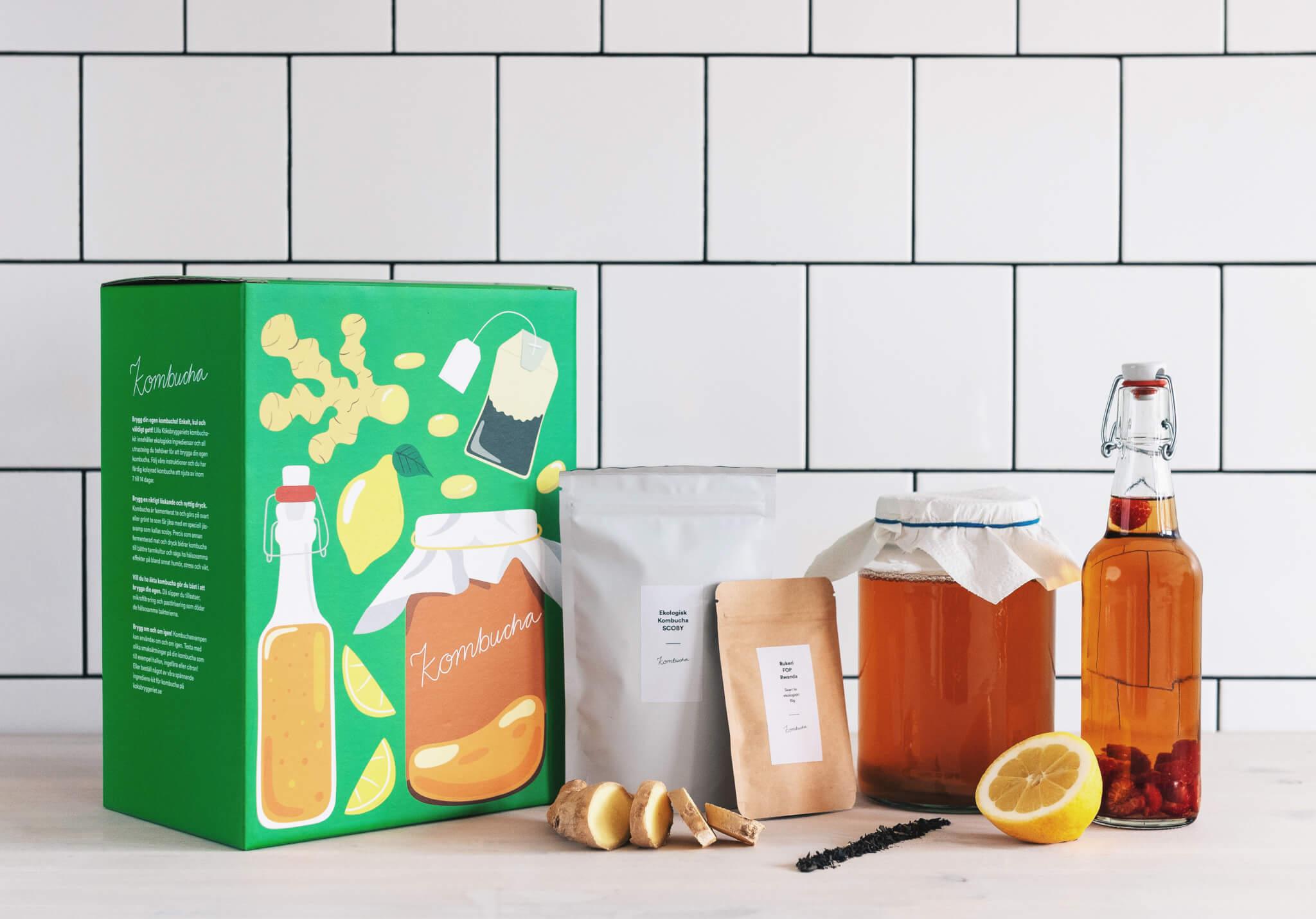 Die Verpackung von Det Lilla Köksbryggeriet