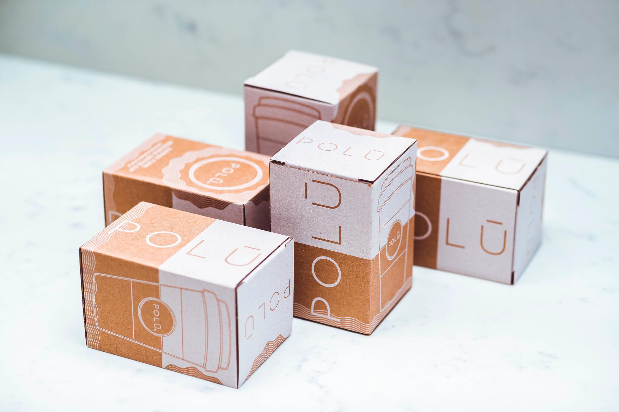 Polu Kraftkarton-Verpackung