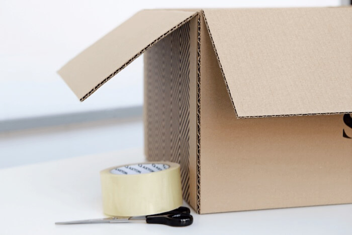 securely packaing your items for international shipping