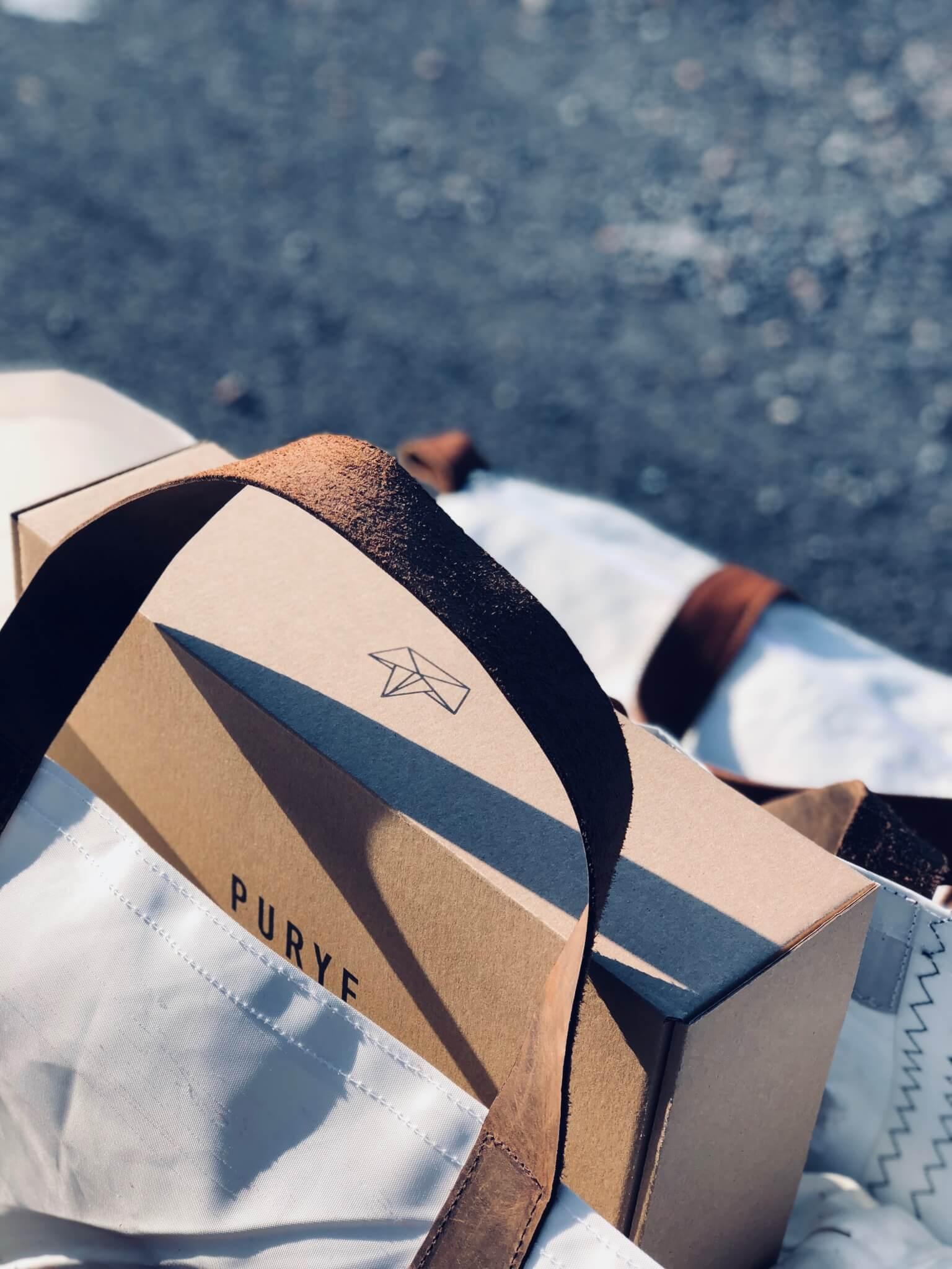 purye clothing packaging