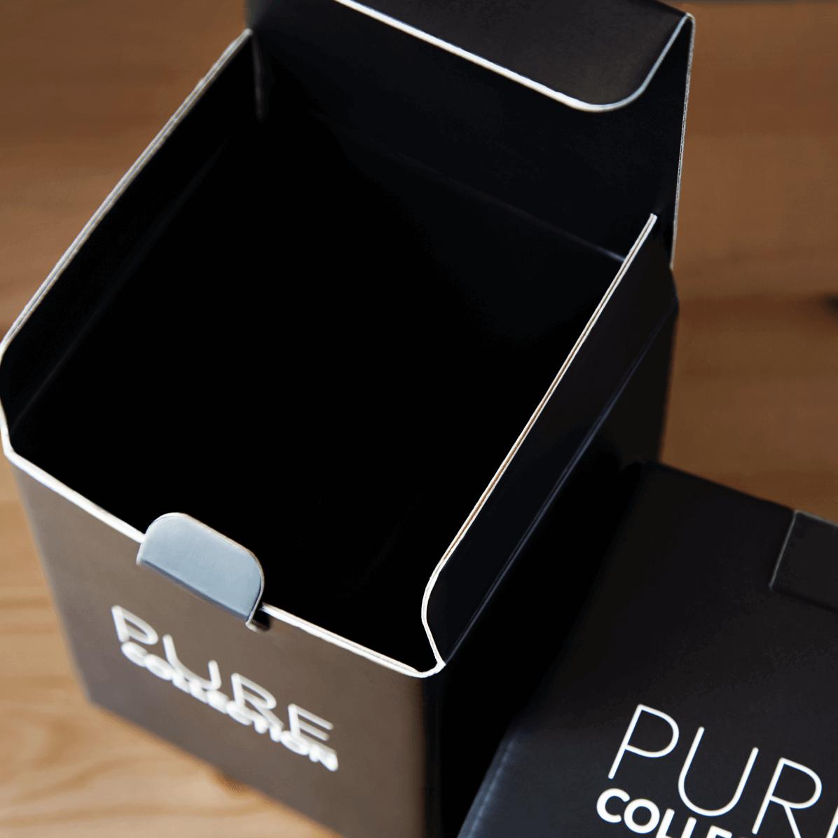 Boîte pliable de la marque Pure