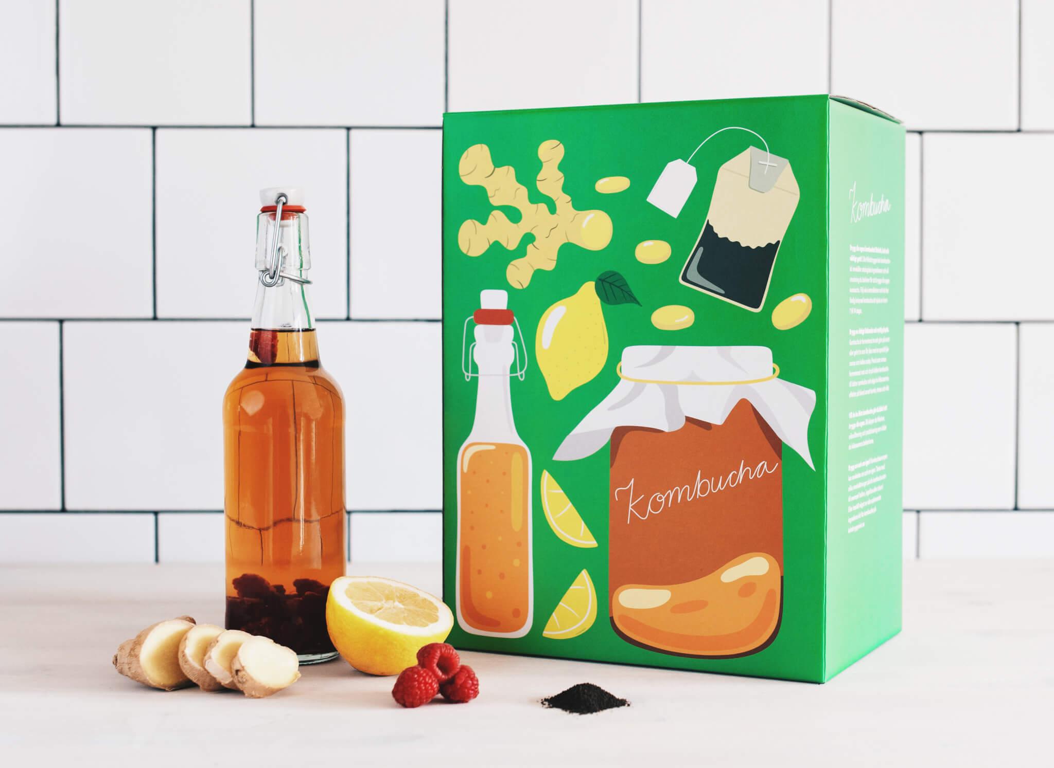packaging of Det Lilla Köksbryggeriet packhelp