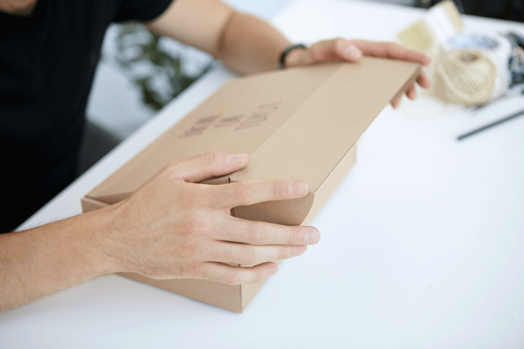 Packaging ecosostenibile scatola