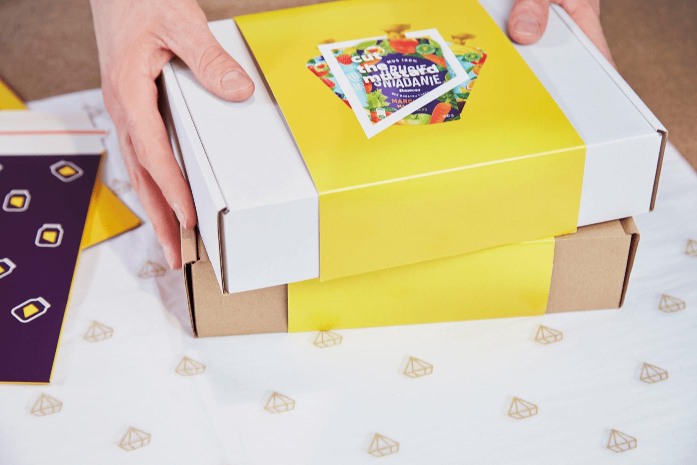 Návlek na krabice