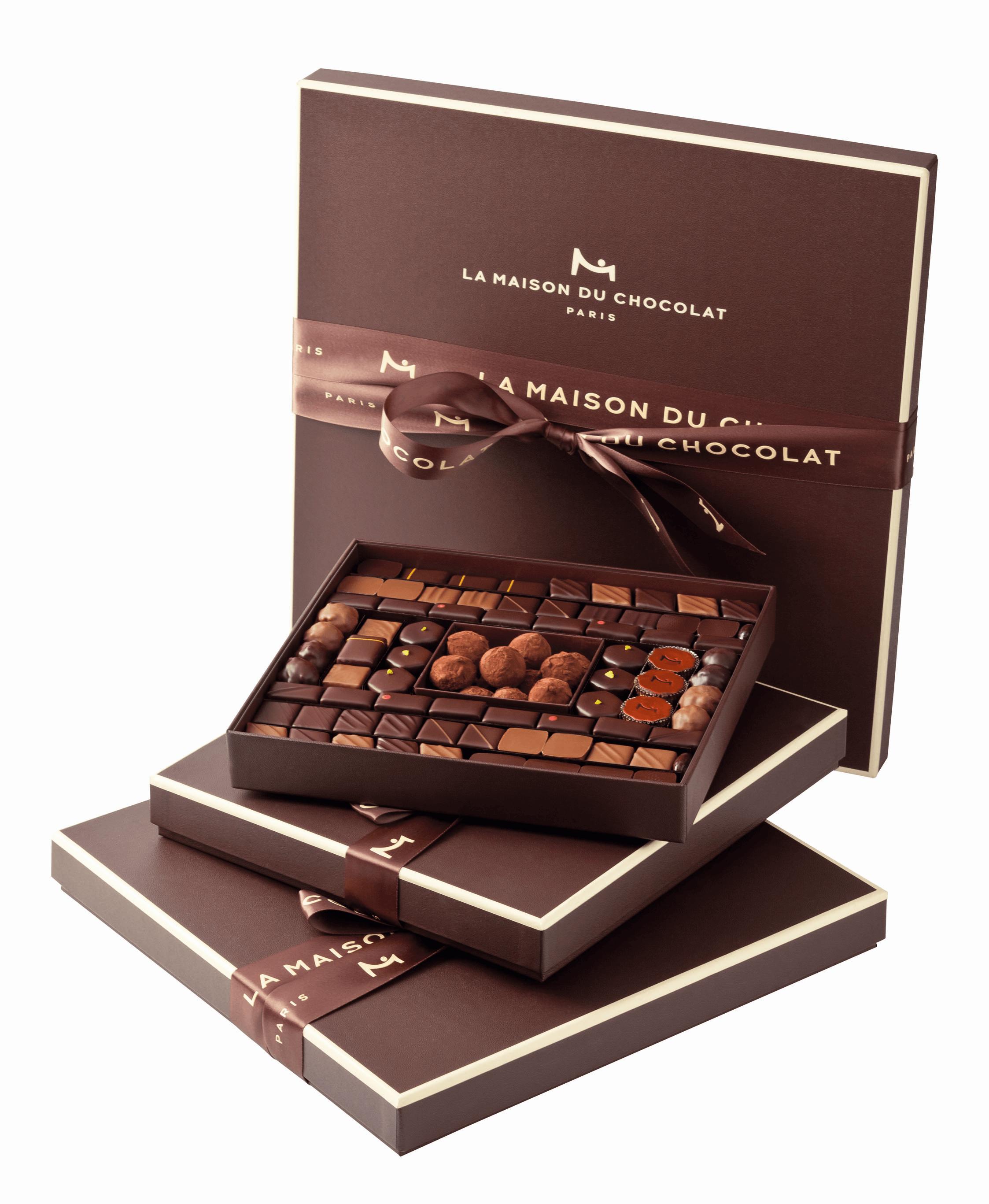 Boîtes d'emballage de chocolats Maison du Chocolat