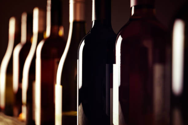 exemples de modèles d'étiquettes de vin