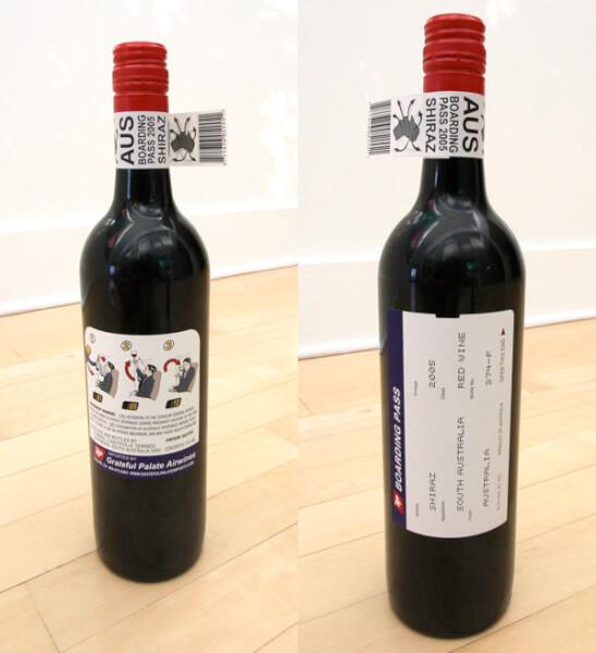 shiraz design de l'étiquette de vinnoriginal