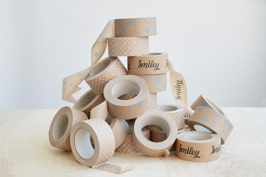 Kraft lepicí pásky s potiskem