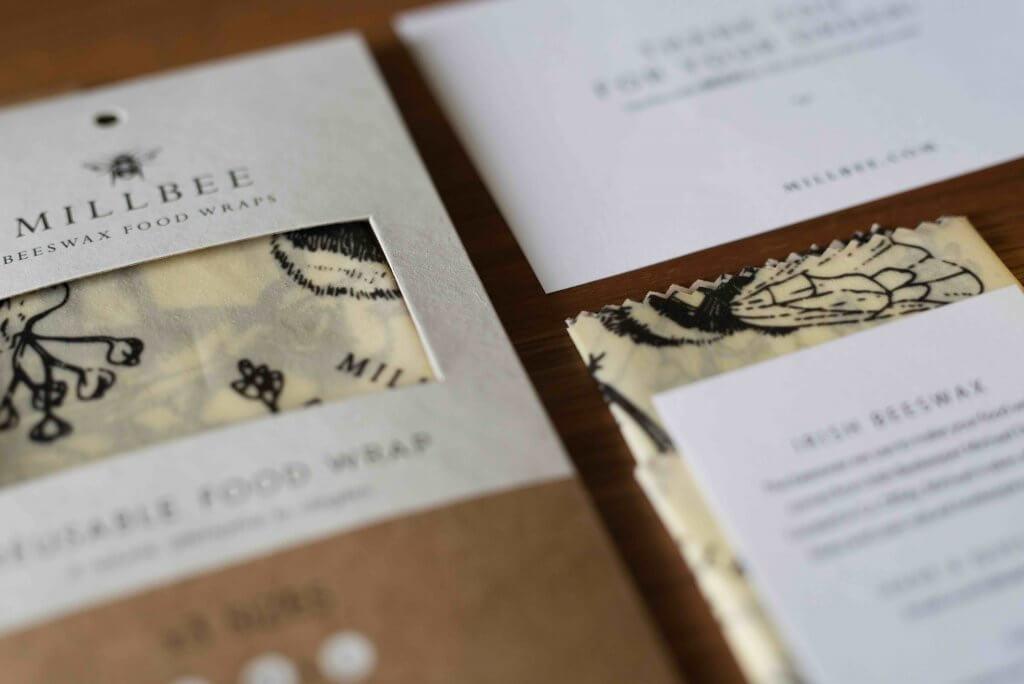 wosk pszczeli, koperty kurierskie Millbee Studio