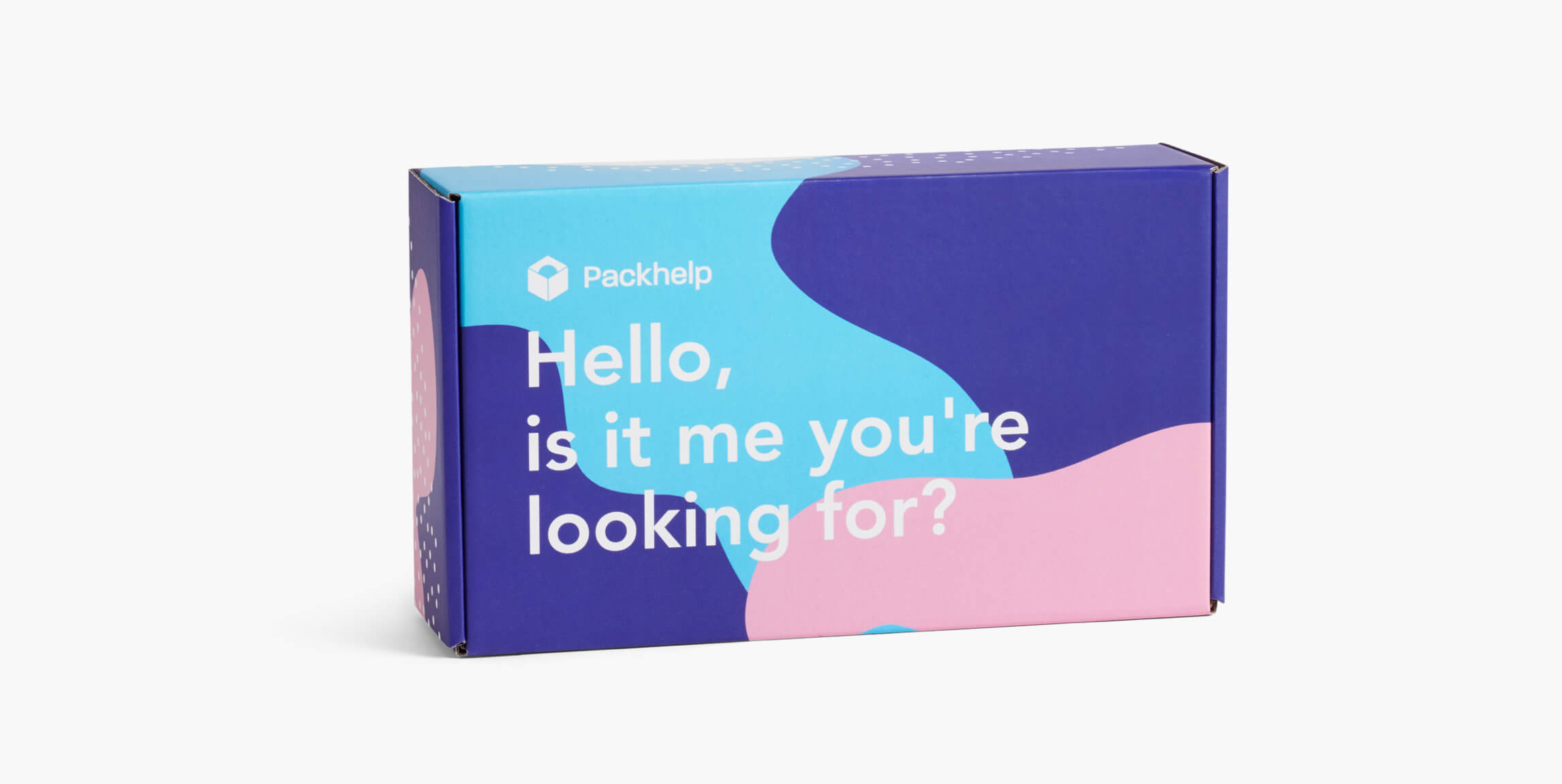 Plnobarevná poštovní krabice - vlastní balení - Packhelp
