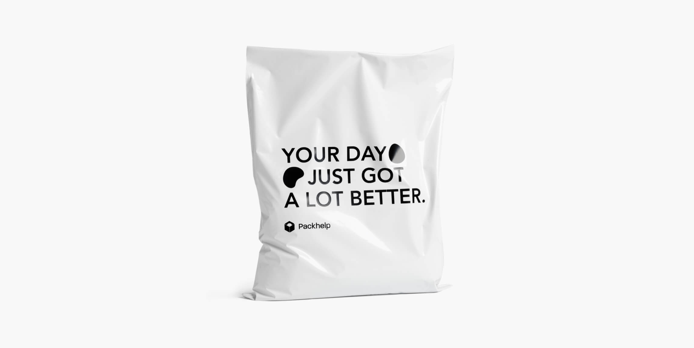 Plastové obálky klasik - vlastní balení - Packhelp