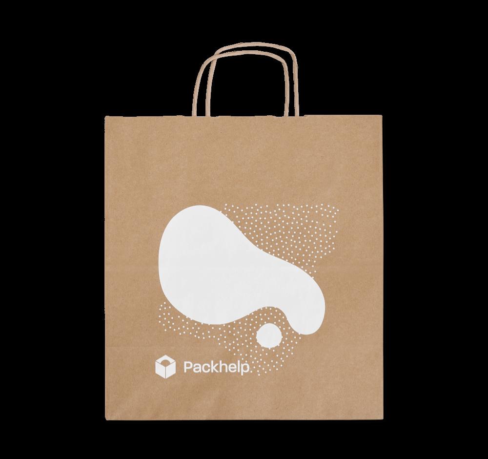 Papírové tašky s potiskem - vlastní balení - Packhelp