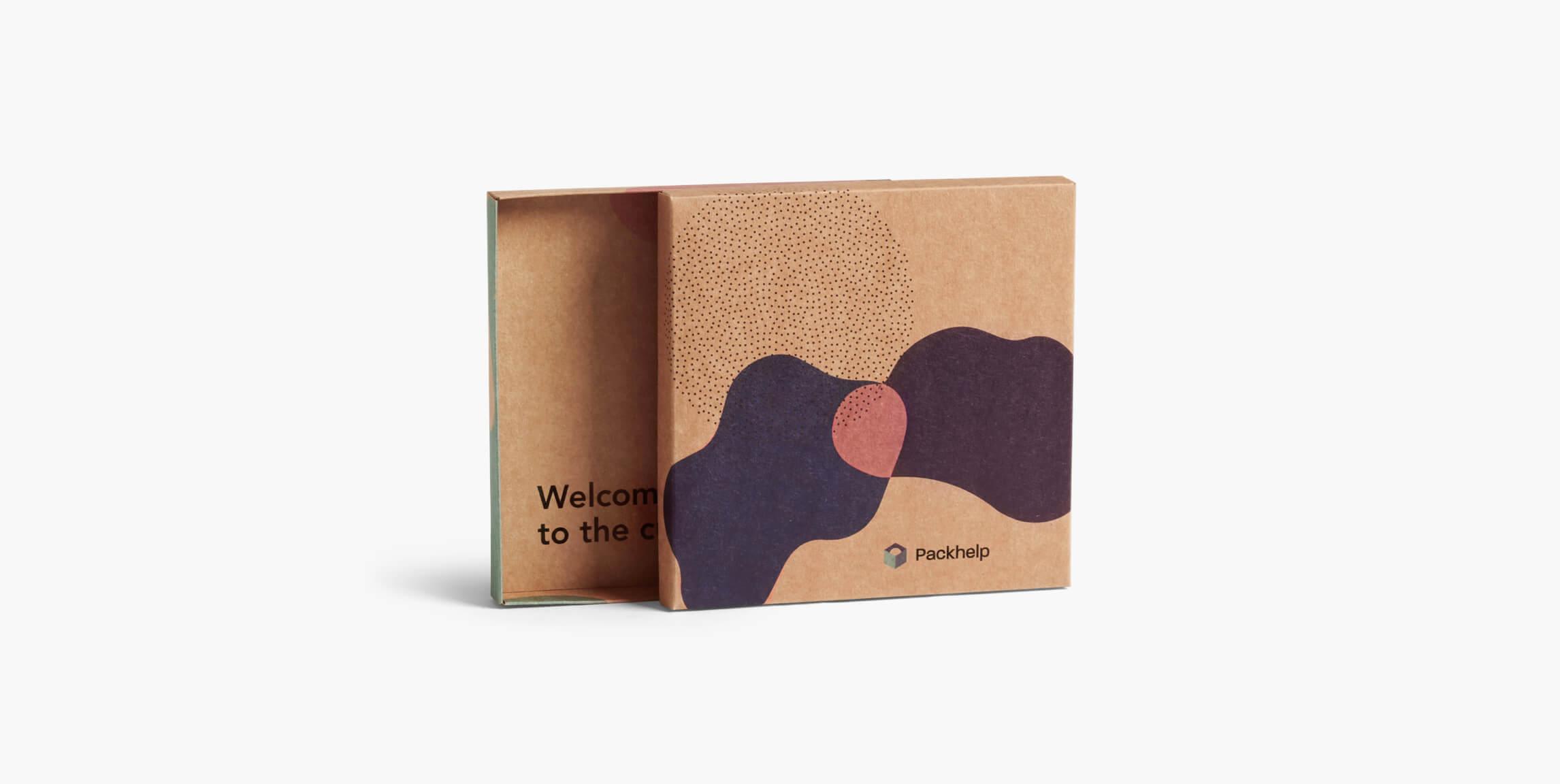 Dvoudílná krabice - vlastní balení - Packhelp