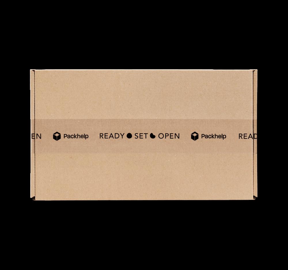Lepicí pásky s potiskem - průhledné - Packhelp