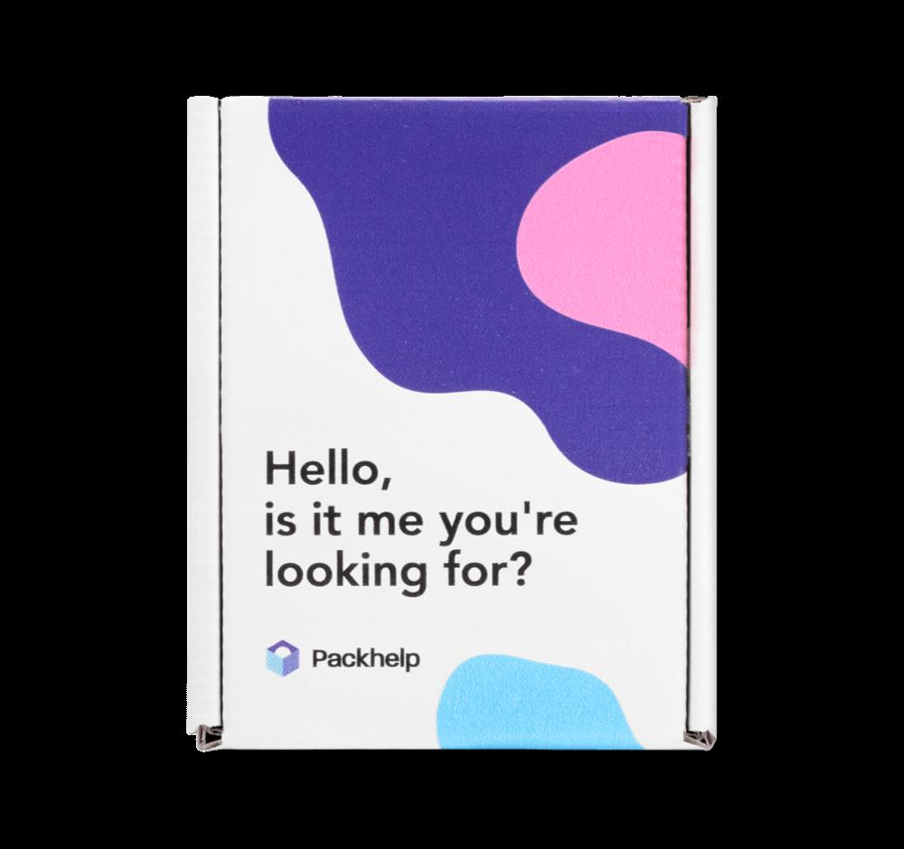 Boîte d'expédition éco couleur - emballage personnalisé pour produits - Packhelp
