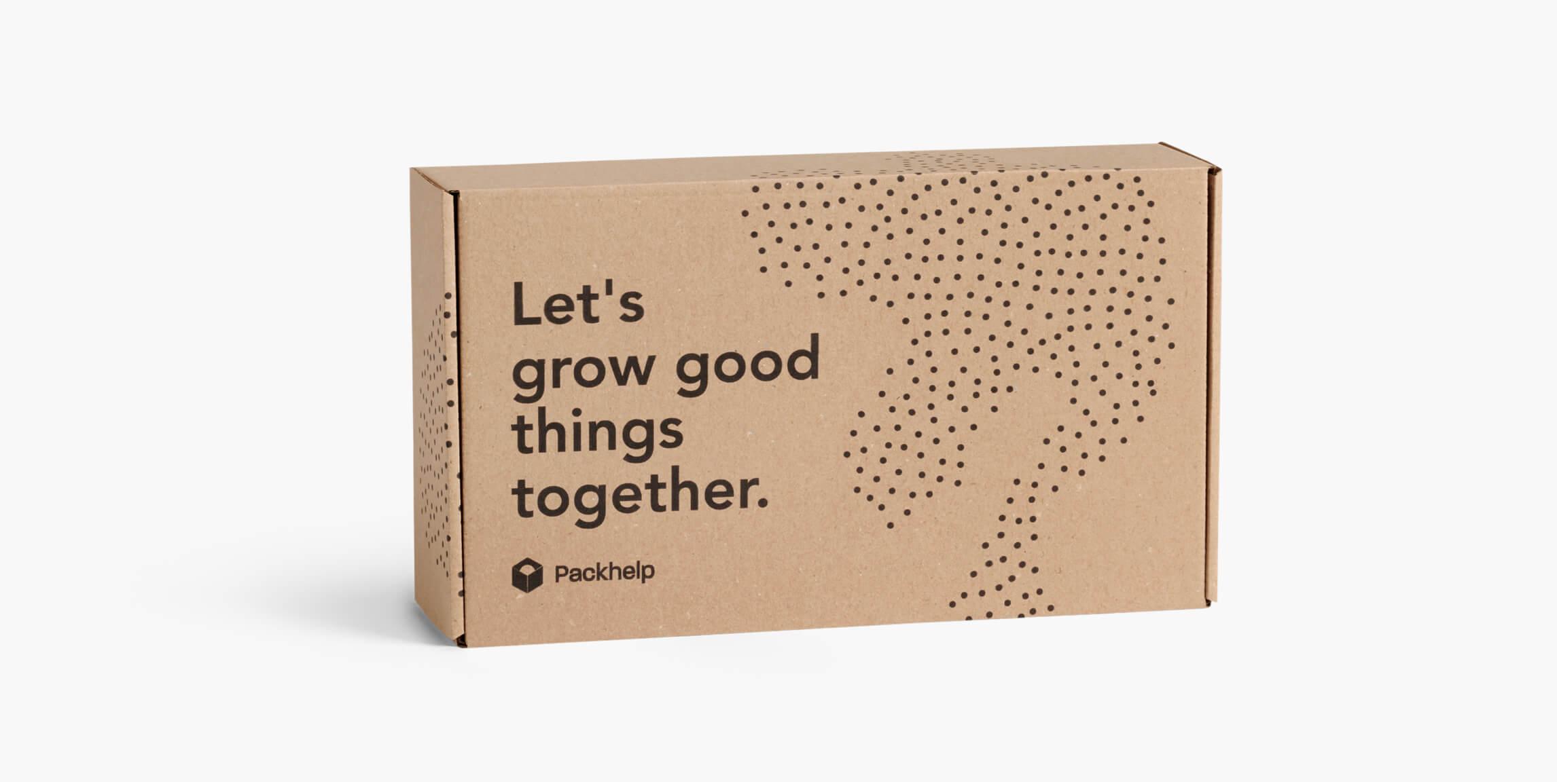 Boîte d'expédition éco - emballage personnalisé pour produits - Packhelp