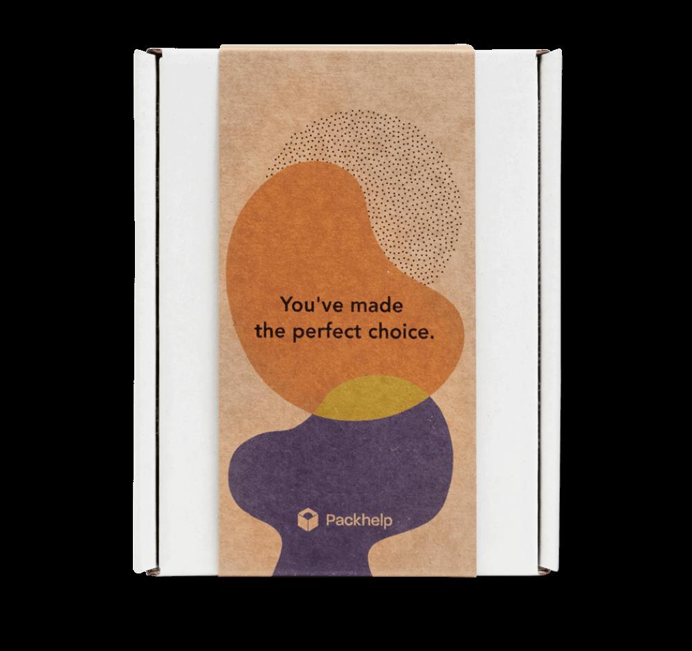 Boîtes avec bandeau - emballage personnalisé pour produits - Packhelp