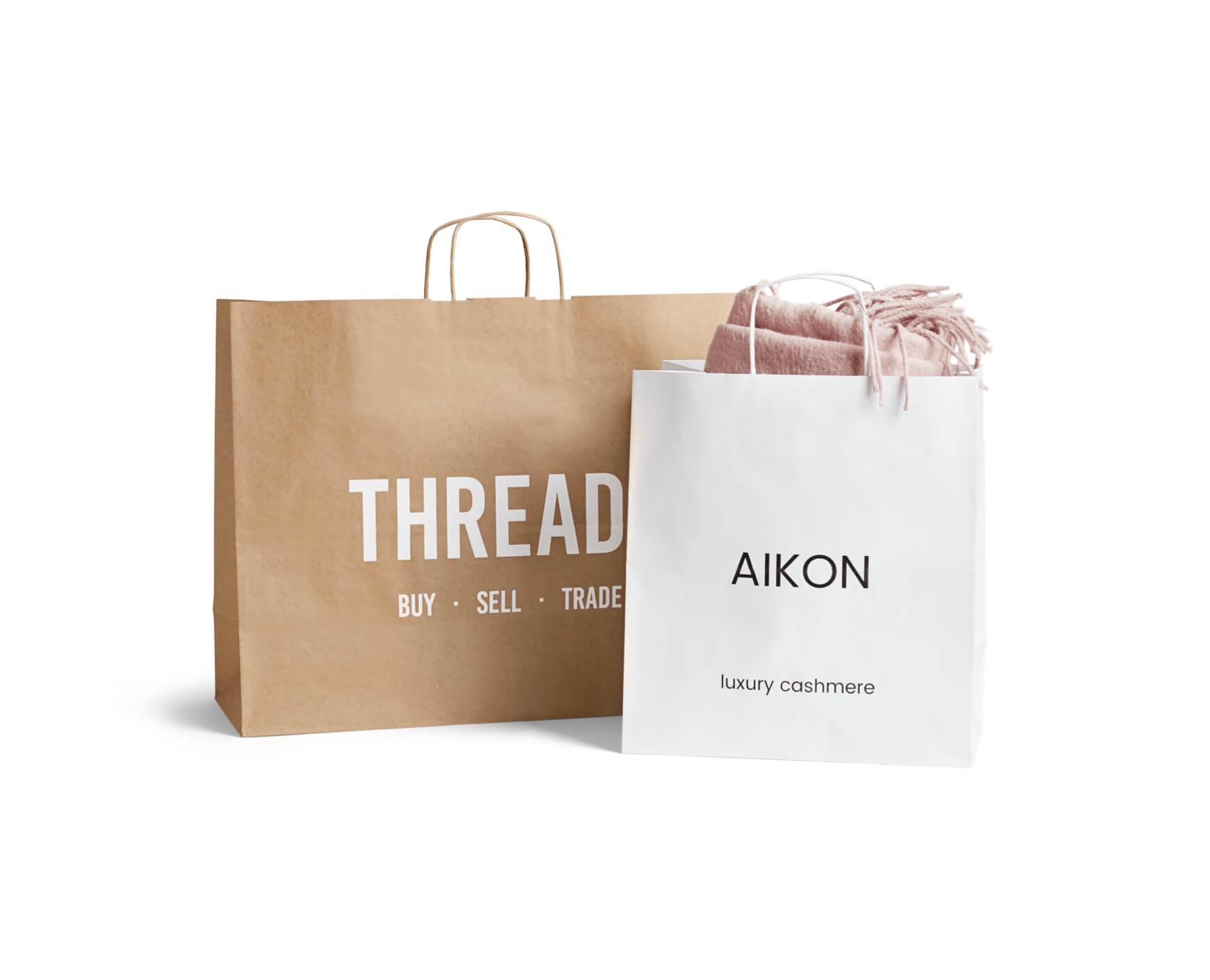 Bolsas de papel para transportar artículos