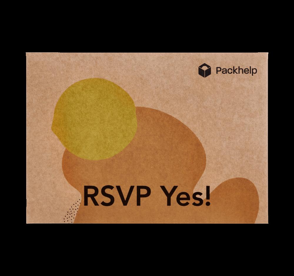 Sobre de cartón - paqueteria personalizada para empresas - Packhelp