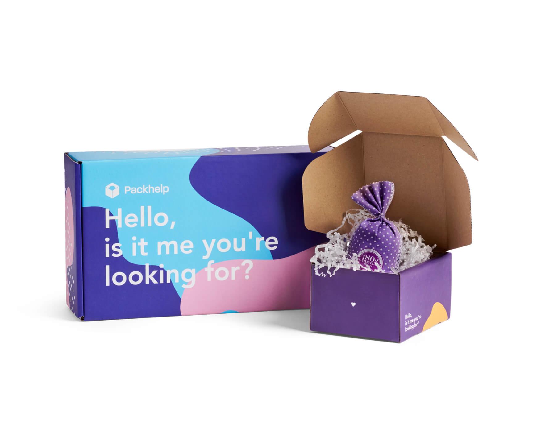 Cajas postales para enviar regalos y complementos