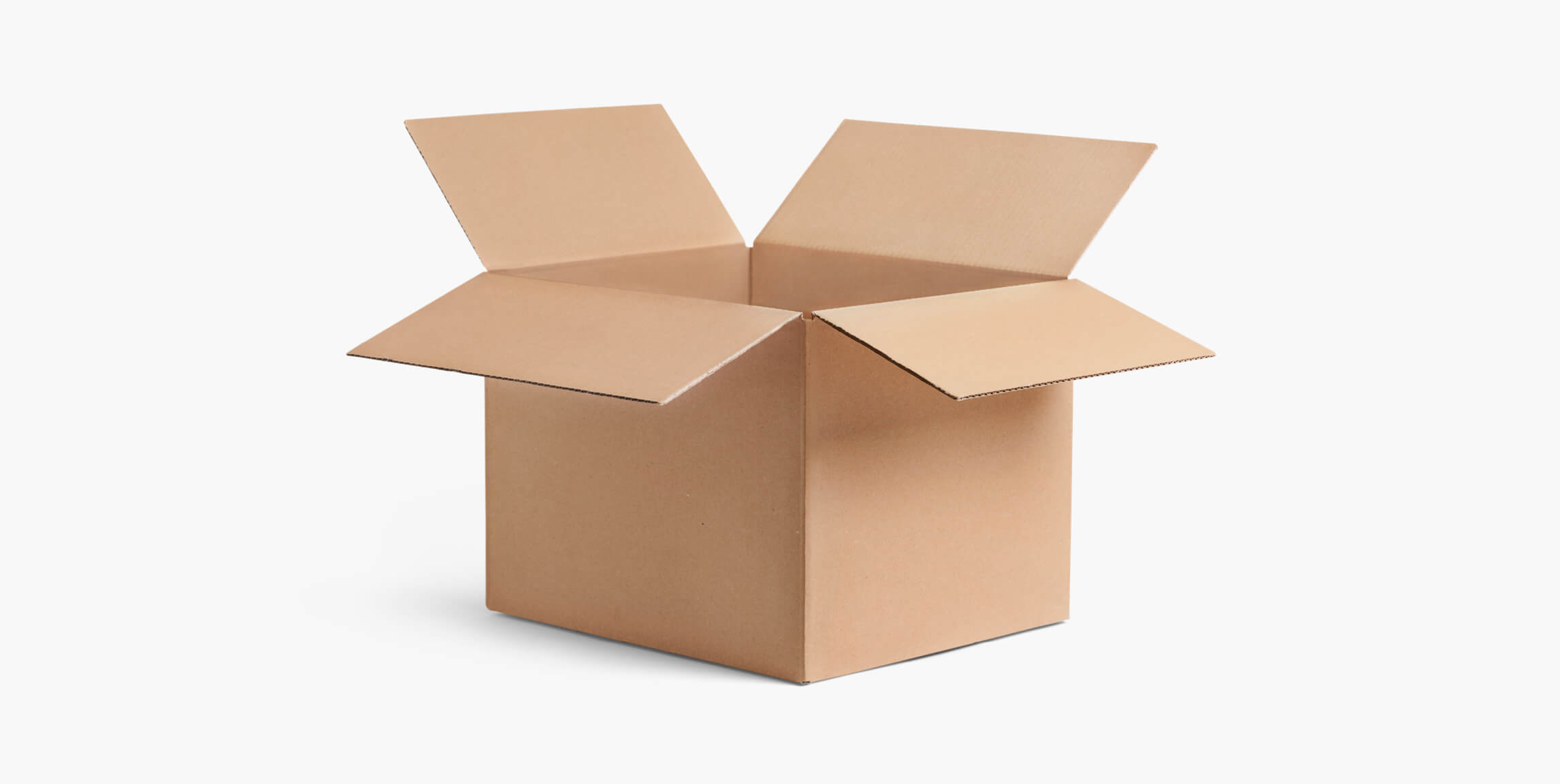 Plain Shipping Box - custom packaging - Packhelp