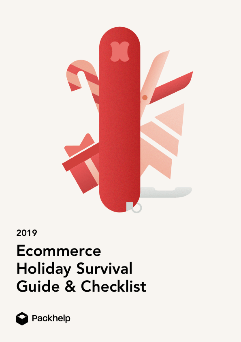 cover of holidays ecommerce e-book packhelp