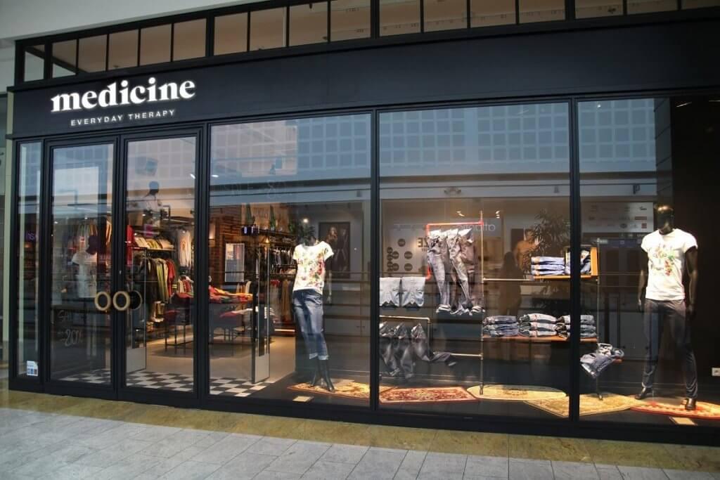 medicine polska marka odzieżowa - sklep stacjonarny
