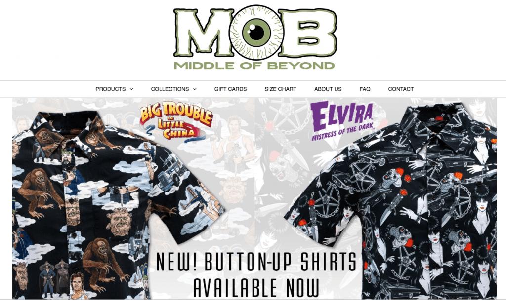 middle of beyond firma odzieżowa e-commerce