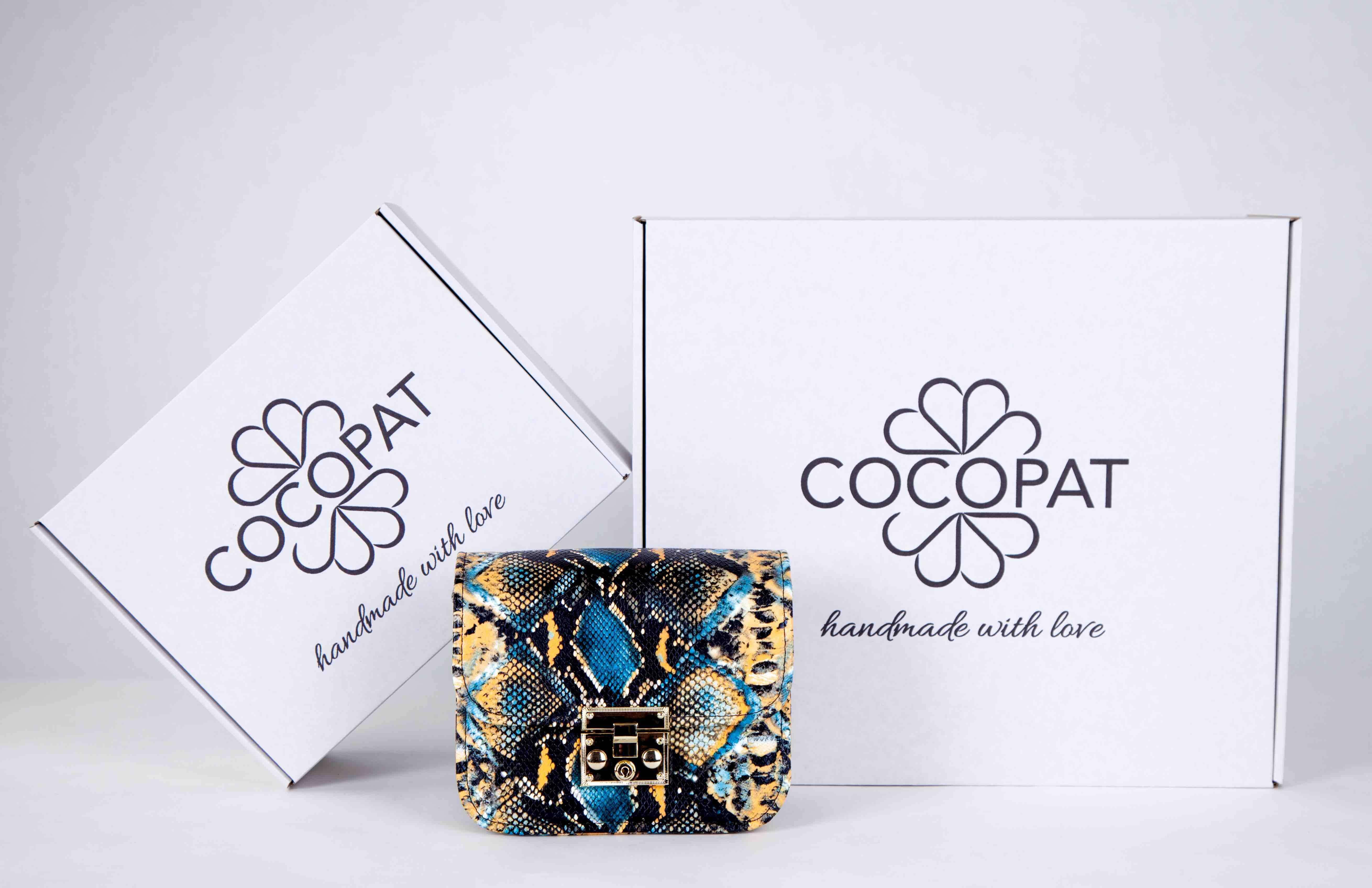 Boîtes de luxe et sac à main de la marque Cocopat