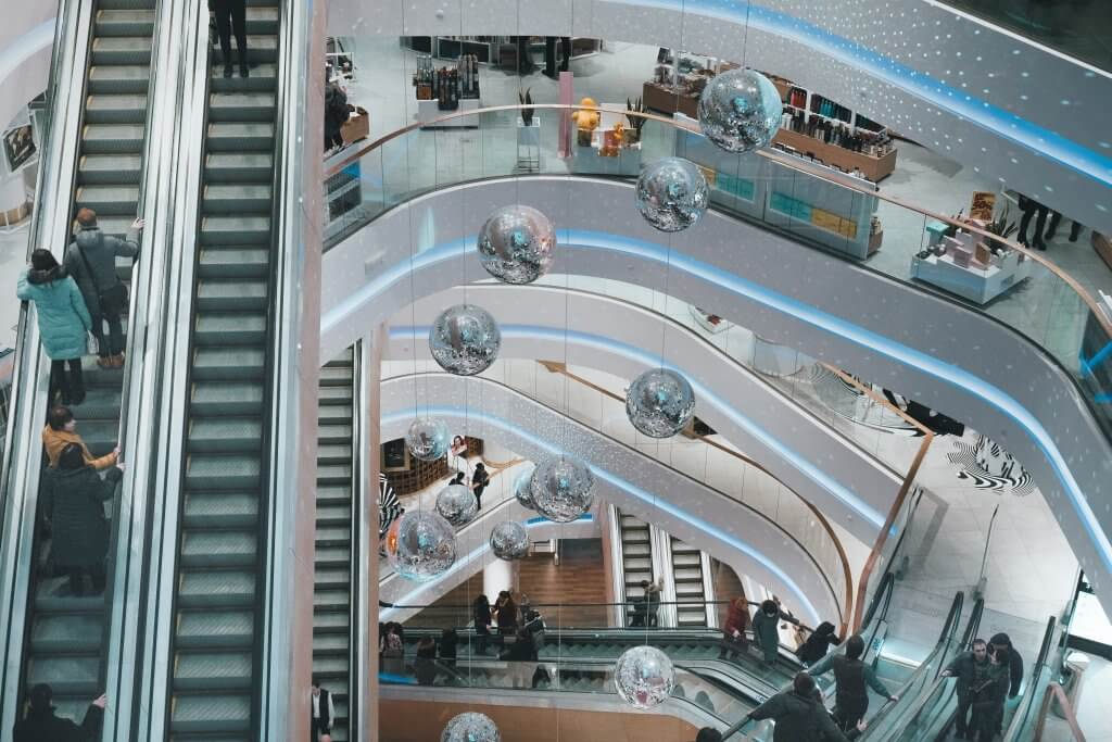 Einzelhandel Mall