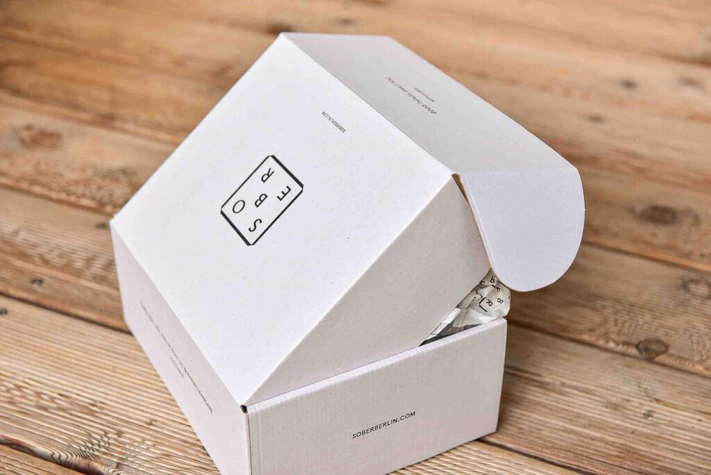 caja blanca sober
