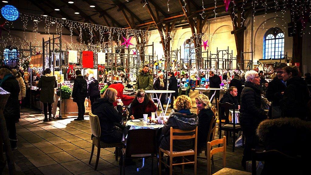 el mercado de navidad en aarhus