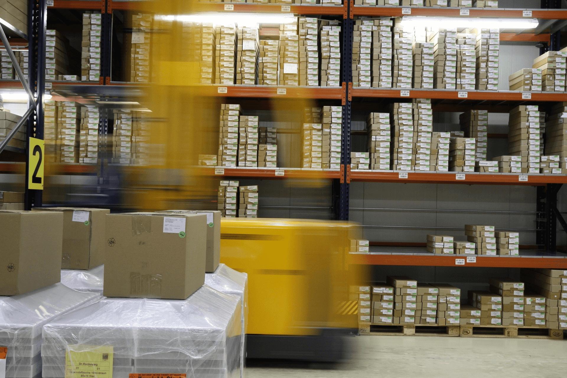 almacén logistico