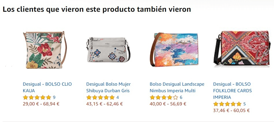 Estrategia de remarketing de Amazon