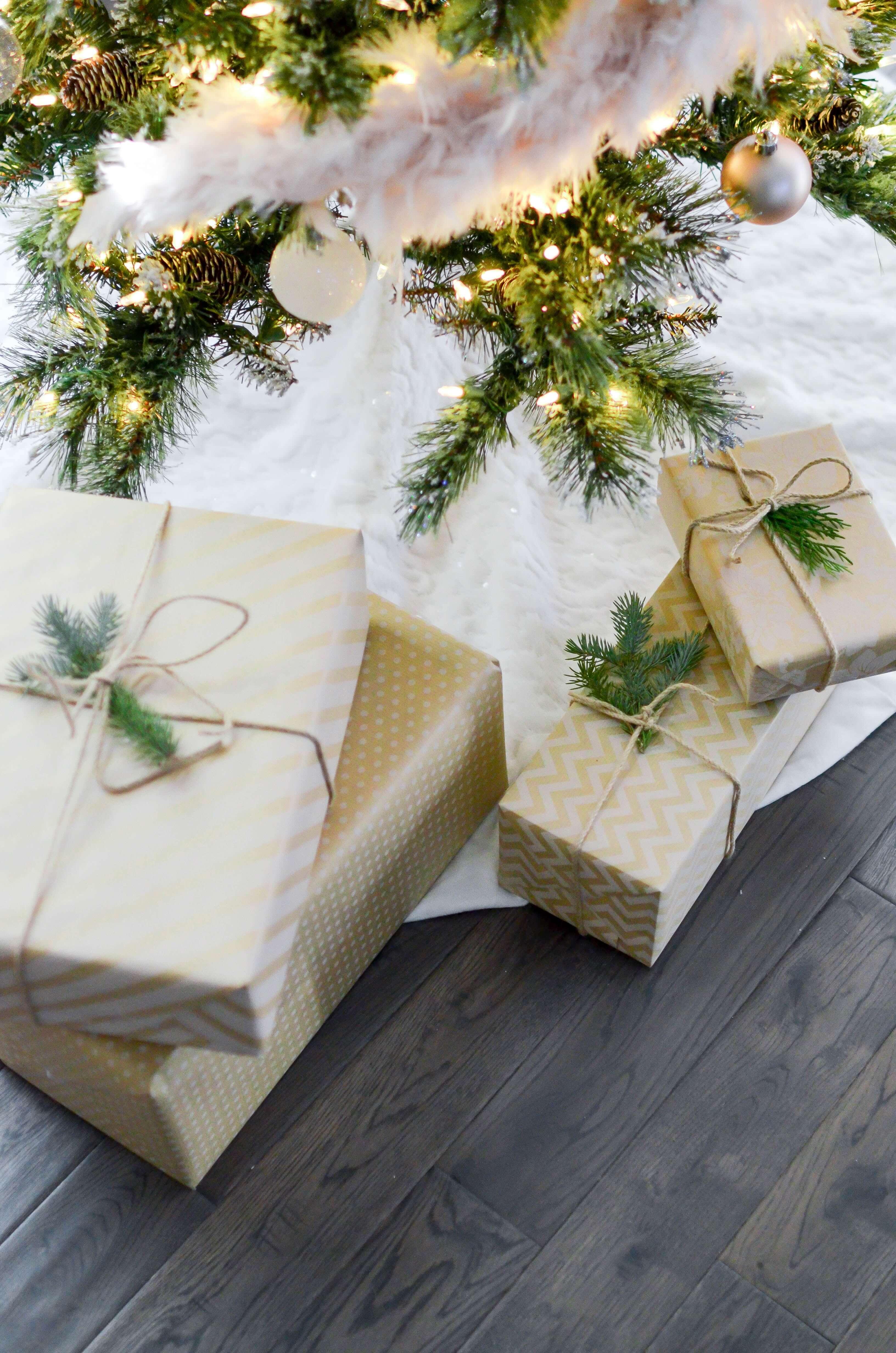 árbol de Navidad natural para un negocio sostenible