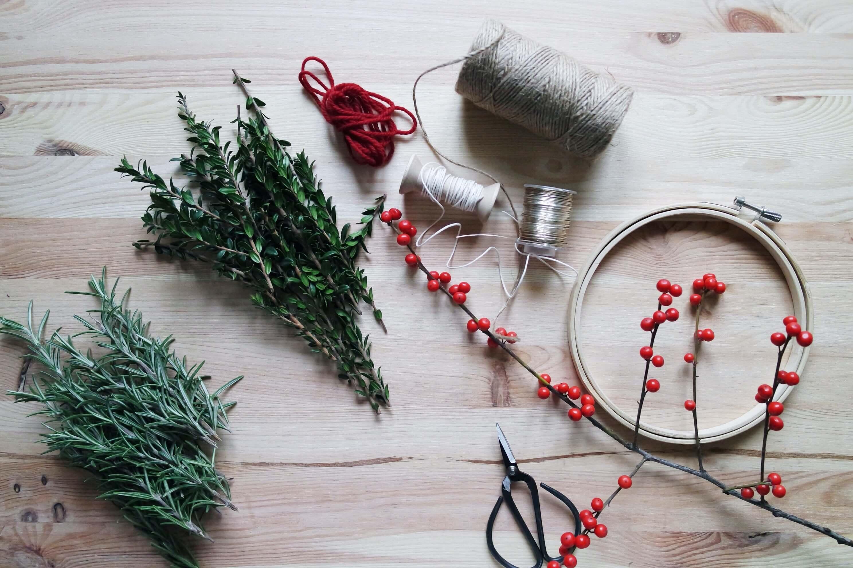 decoración navideña para tu negocio sostenible