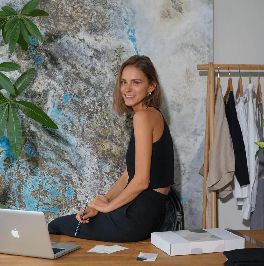 La créatrice de mode Aleksandra Kolodziej