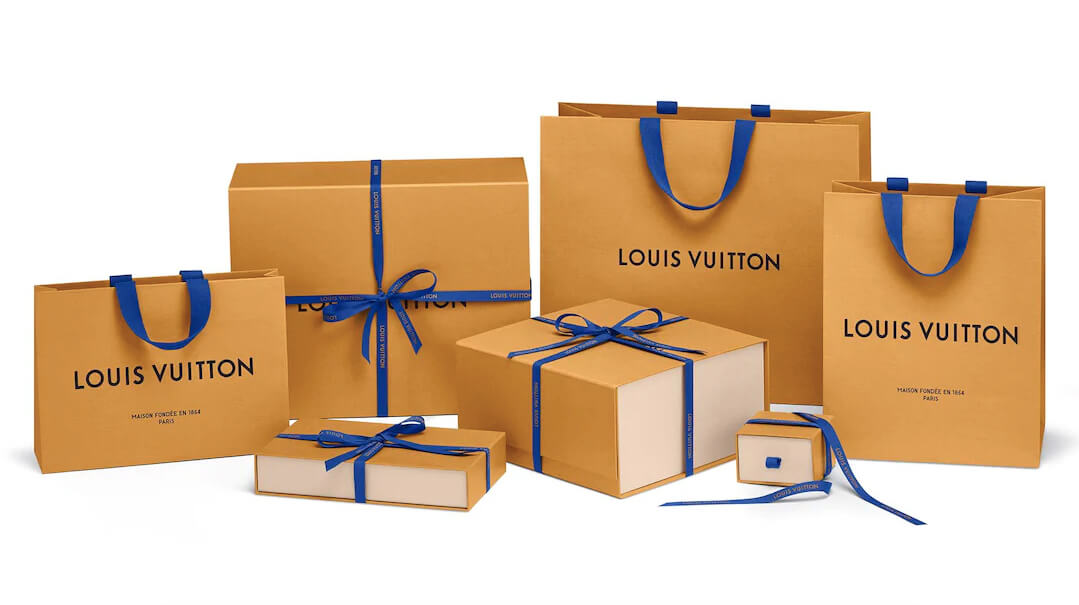 Le nouveau design du packaging Louis Vuitton