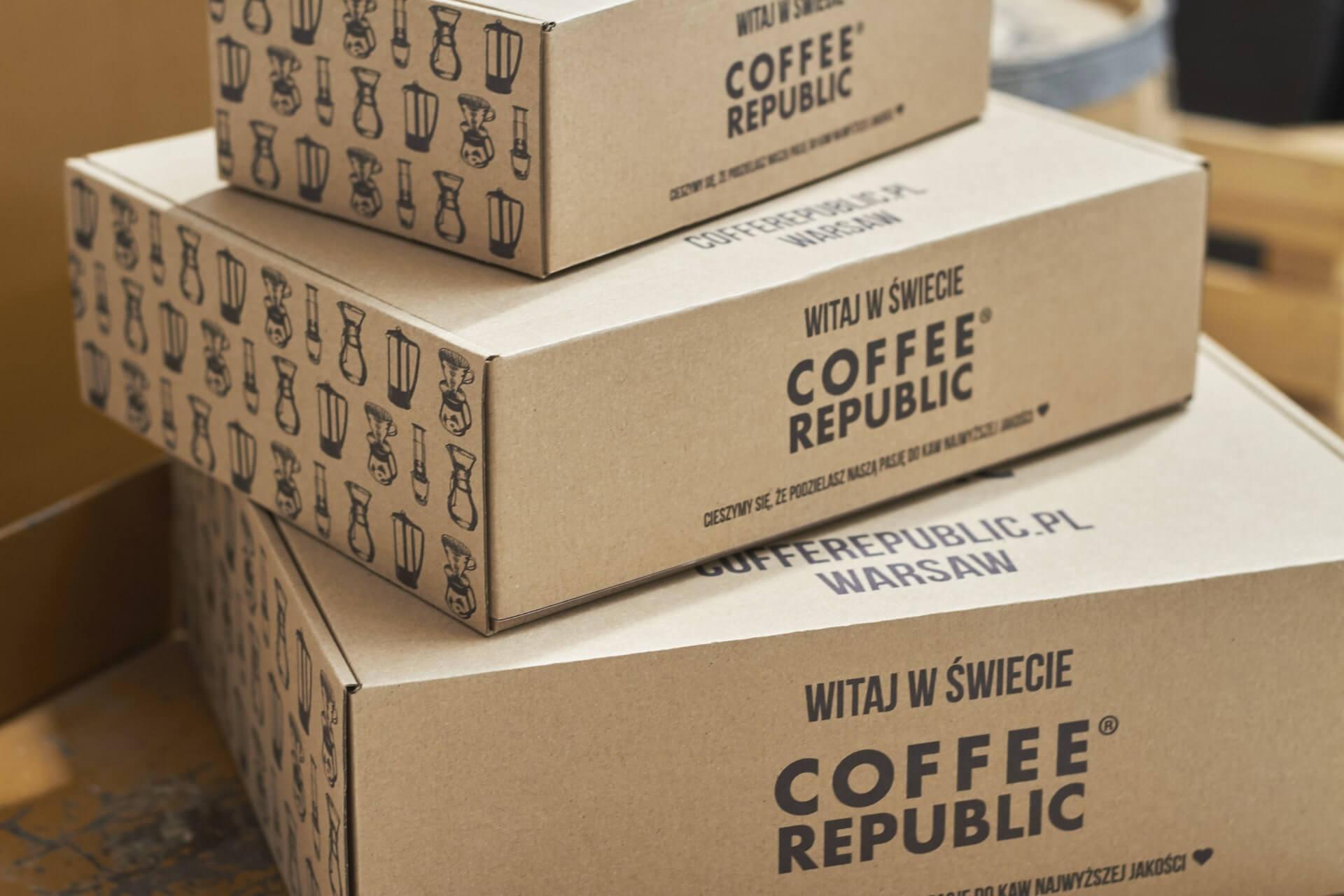 scatole postali Coffee Republic