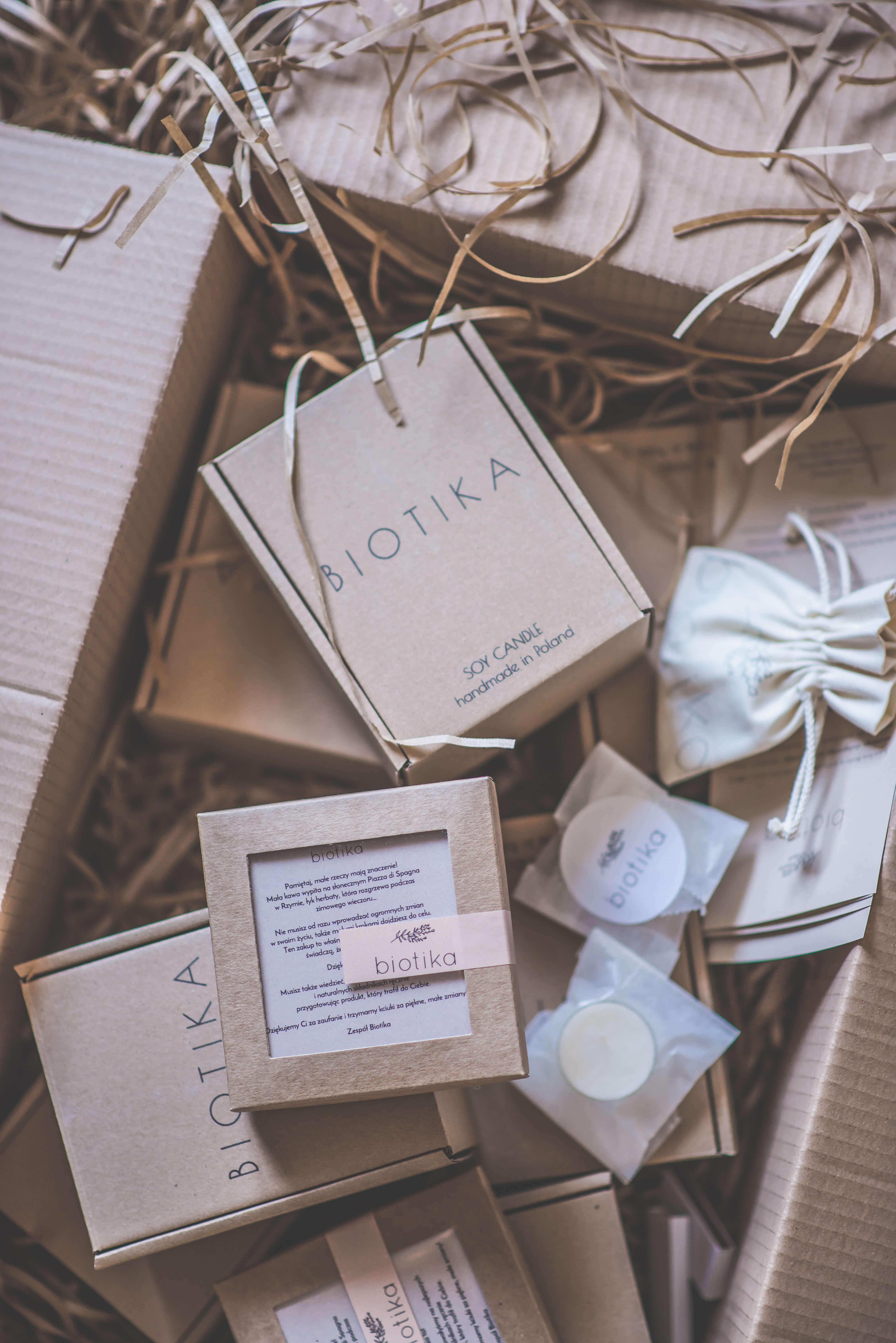scatole postali e packaging Biotika