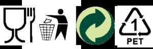 recyklační značení na obalech