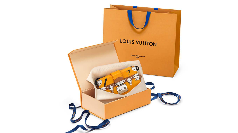 Nouveau packaging Louis Vuitton
