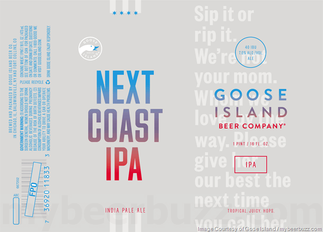 next coast beer branding