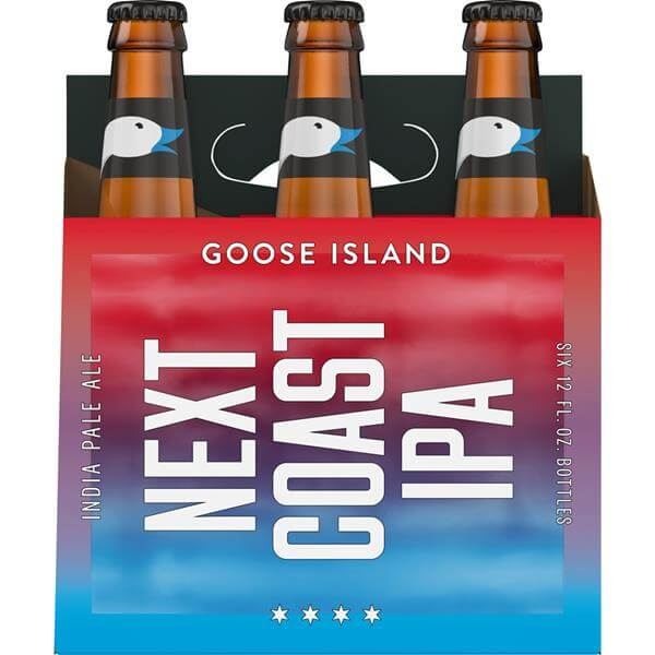 next coast beer packaging design