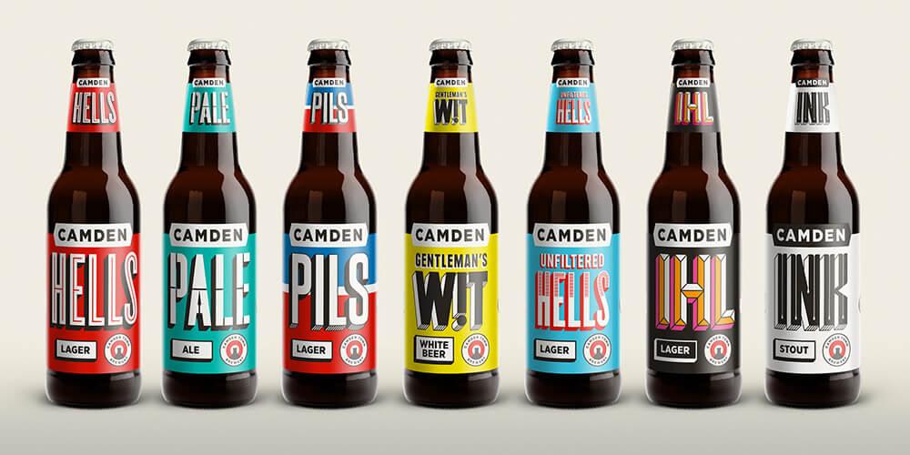 camden town brewery branding