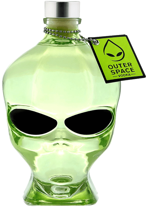 alien vodka branding