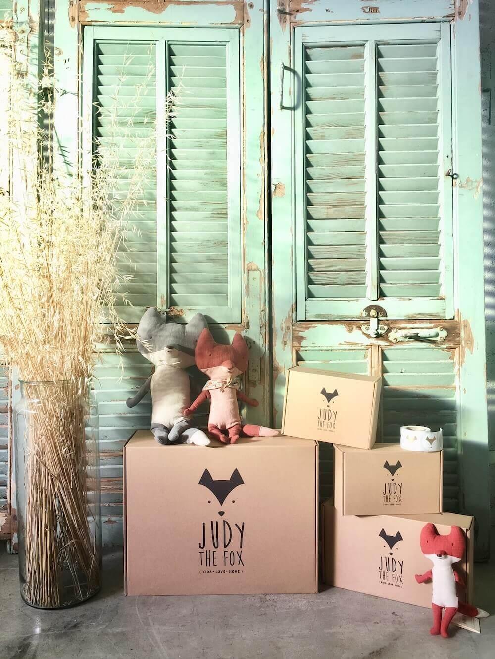 Judy the Fox produktové obaly na míru