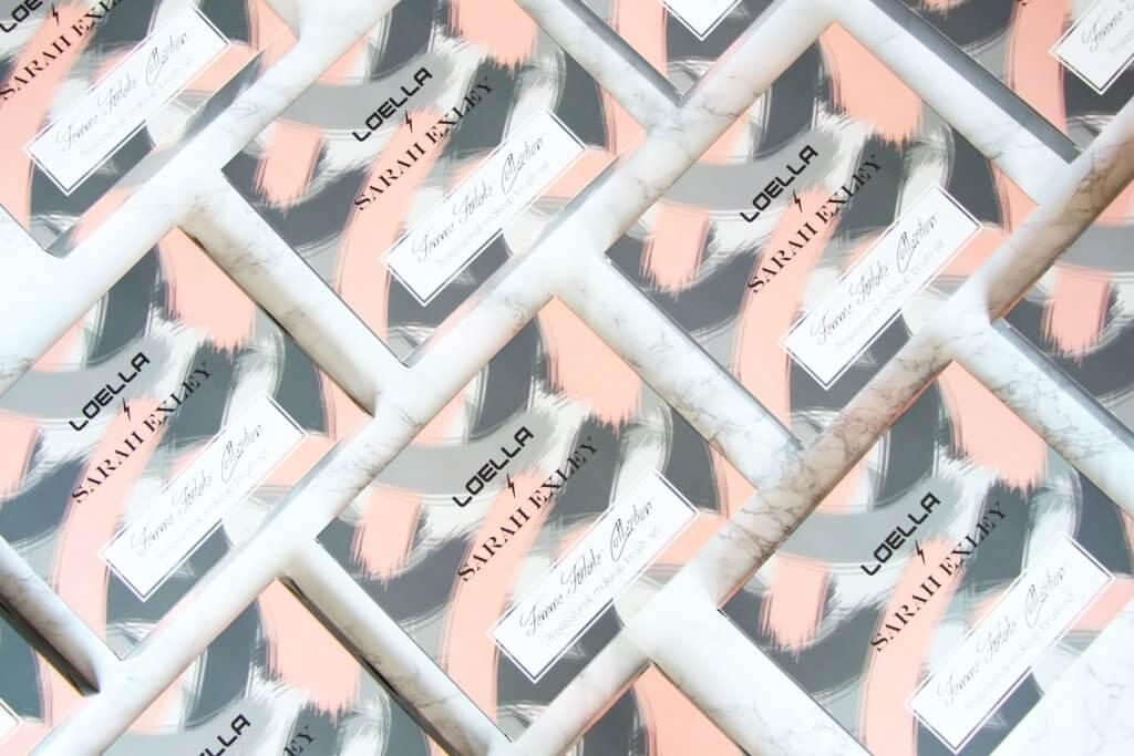 pudełka produktowe loella cosmetics