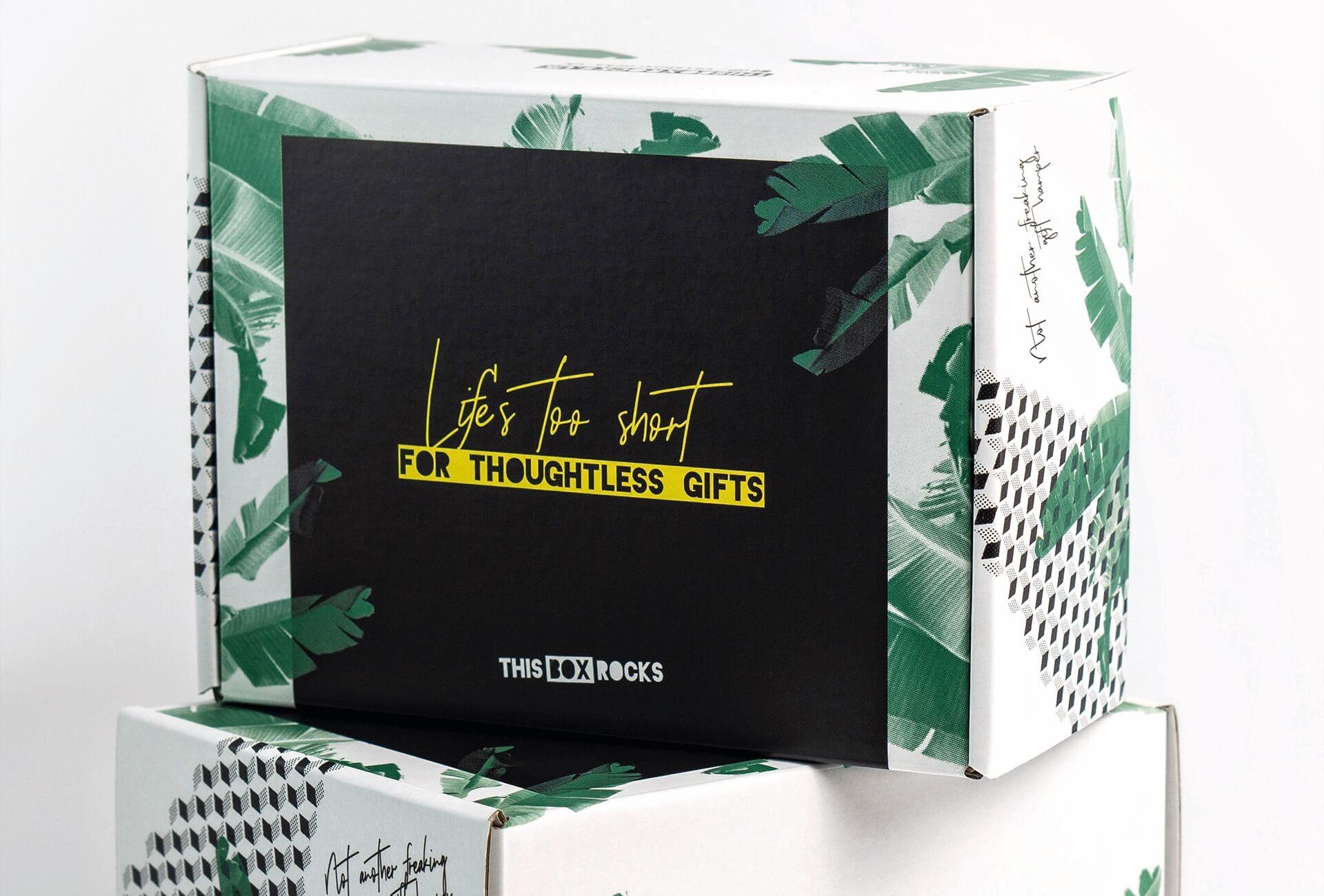 Boîte d'emballage This Box Rocks