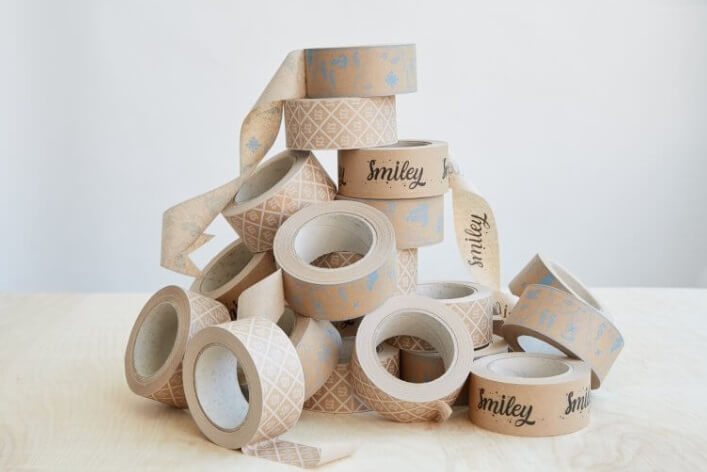 cintas de embalaje fabricadas con papel kraft